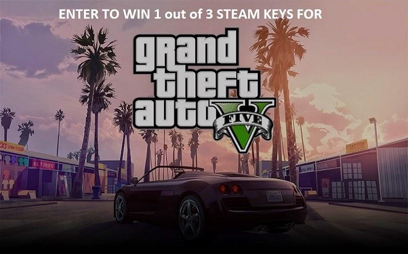 GTA V PC Steam Giveaway