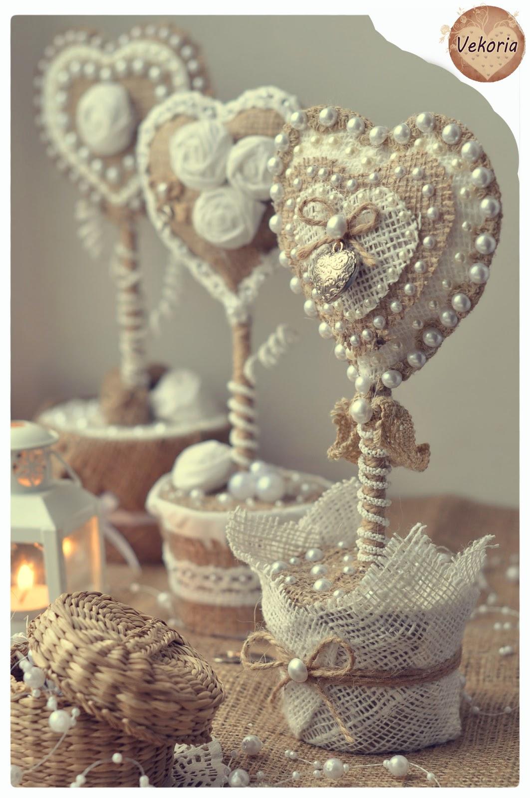 Сувениры из кружева своими руками