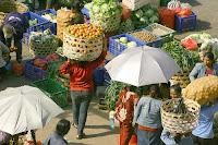 Kumbasari market at Denpasar