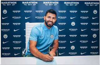 EPL: Sergio Aguero signs new contract with Man City, gives reason