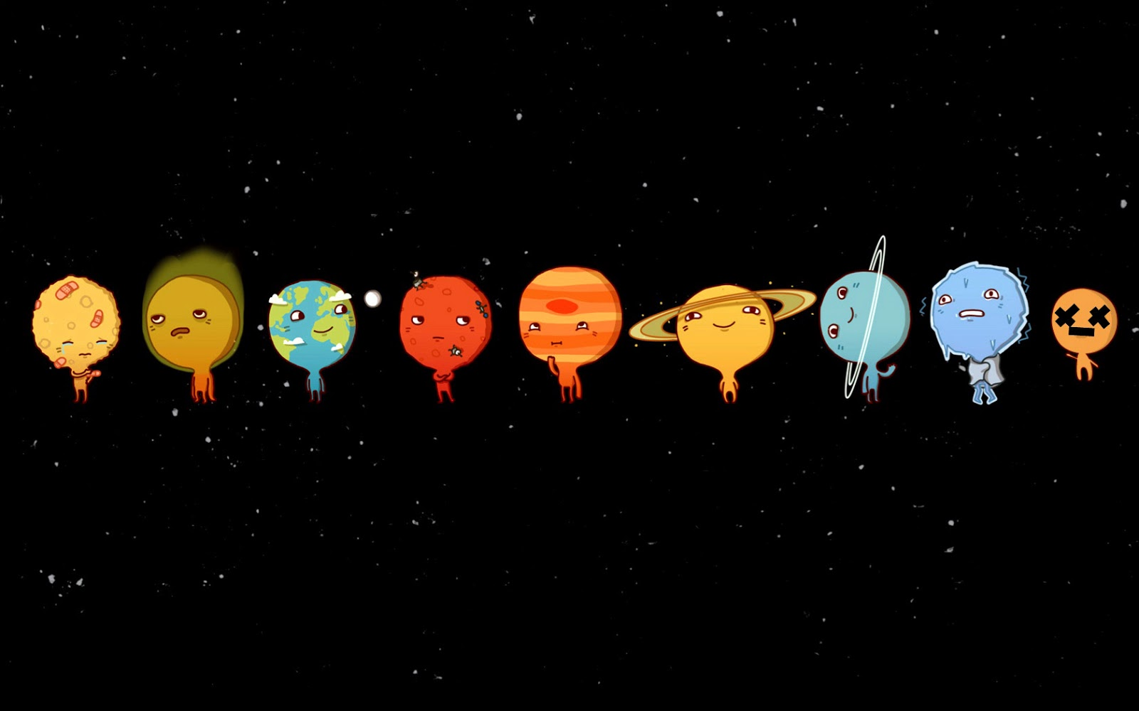 solar system hd background - photo #22