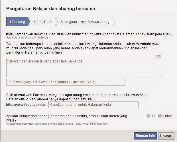 Cara Membuat Fans Page Facebook
