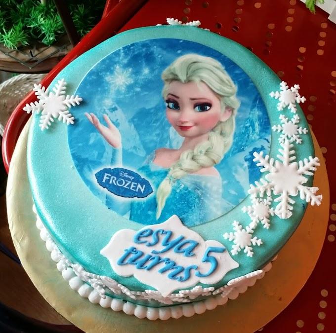 Kek Birthday Impian Kakak Imani & Abam Faris