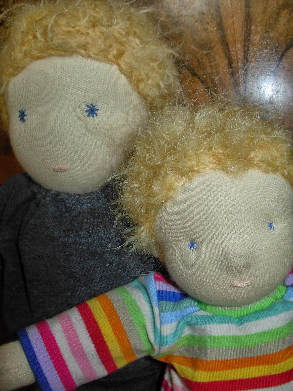 auch Jungen brauchen Puppen