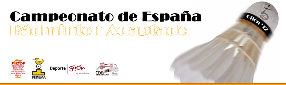 Campeonato de España de Badminton Adaptado 2012