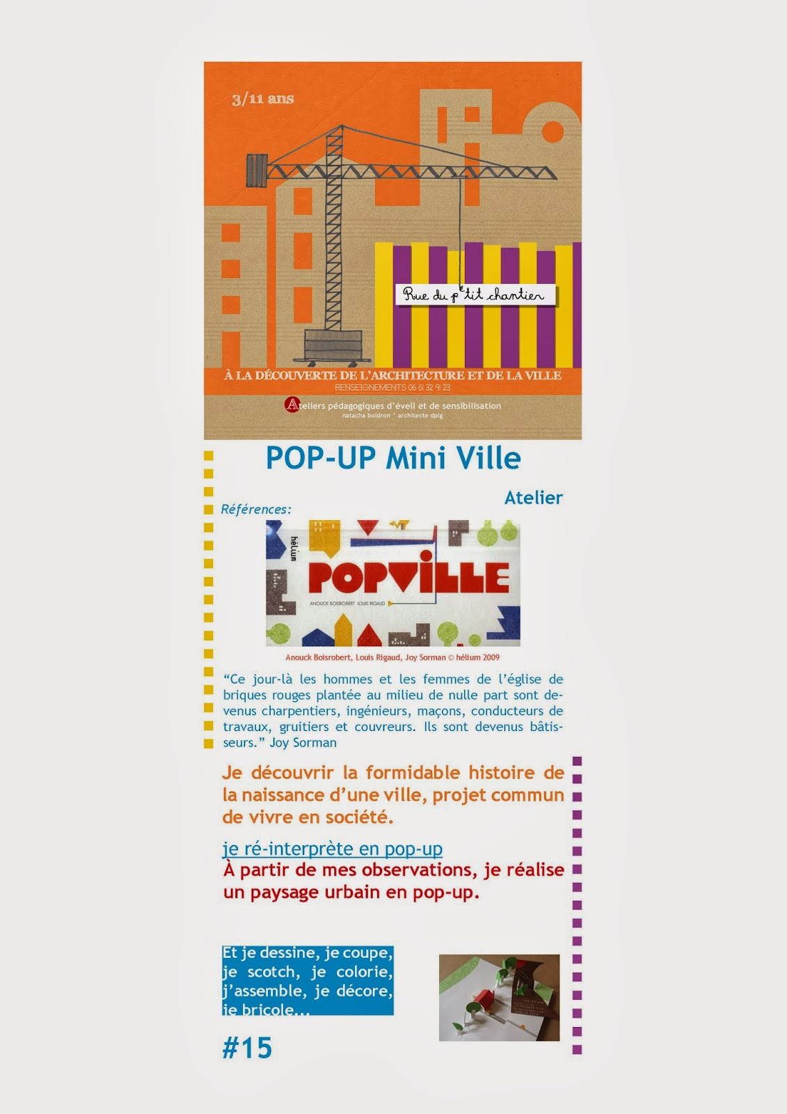 Pop up mini ville no l l 39 agence for Agence up paysage