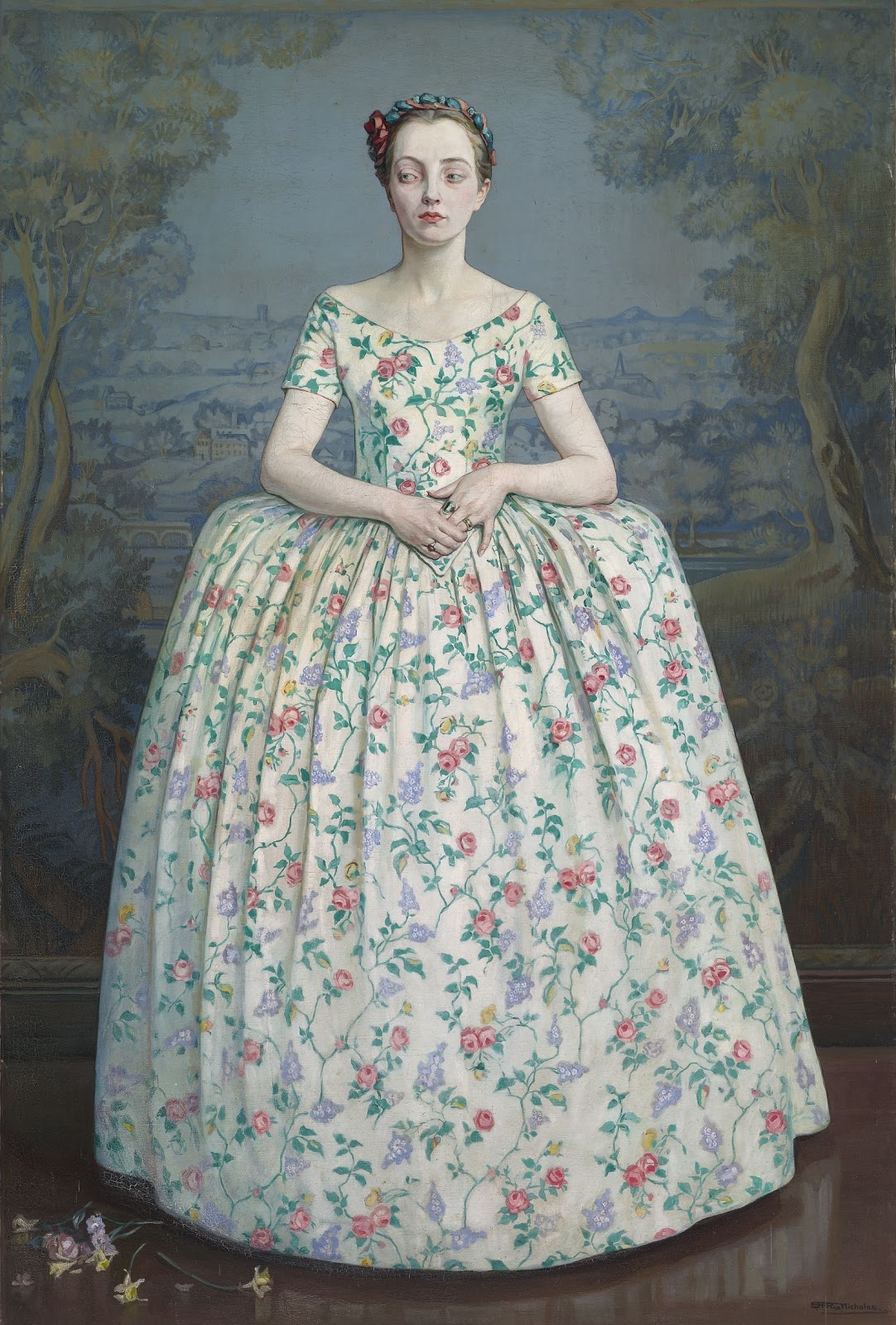 Hilda Rix Nicholas Les fleurs dedaignees National Gallery of Australia