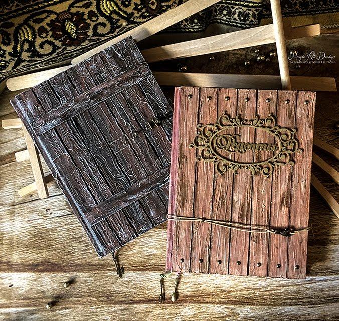 "МК ""Имитация древесины на обложке блокнота"" TALLINN 24.10.2017"