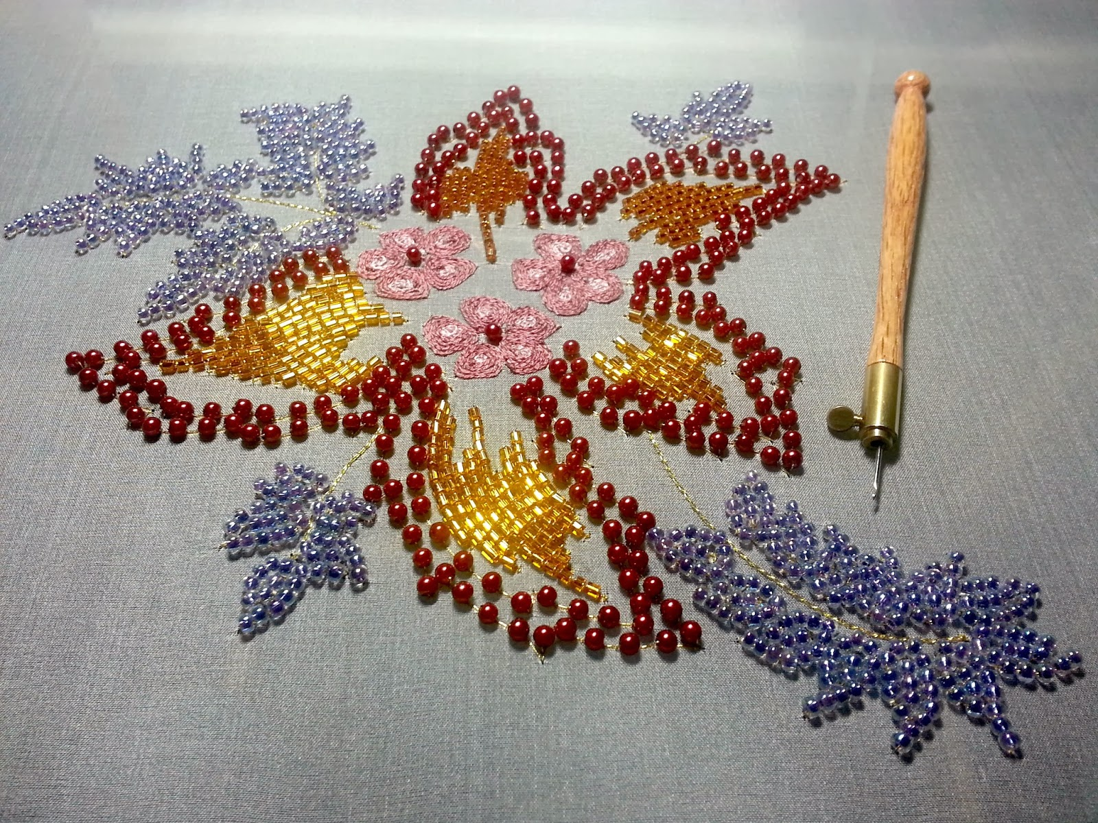 Stitching In The Pursuit Of Happiness Ny City Tambour Embroidery Class