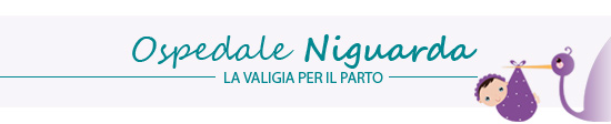 Ospedale Niguarda: la valigia per il parto