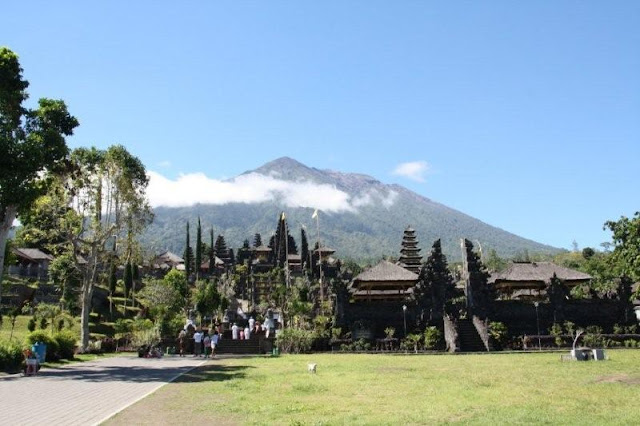 Santuario de Besakih y Monte Gunung Agung, Bali