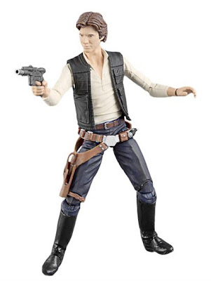 "Hasbro Star Wars The Black Series Wave 2 6"" Han Solo Figure"