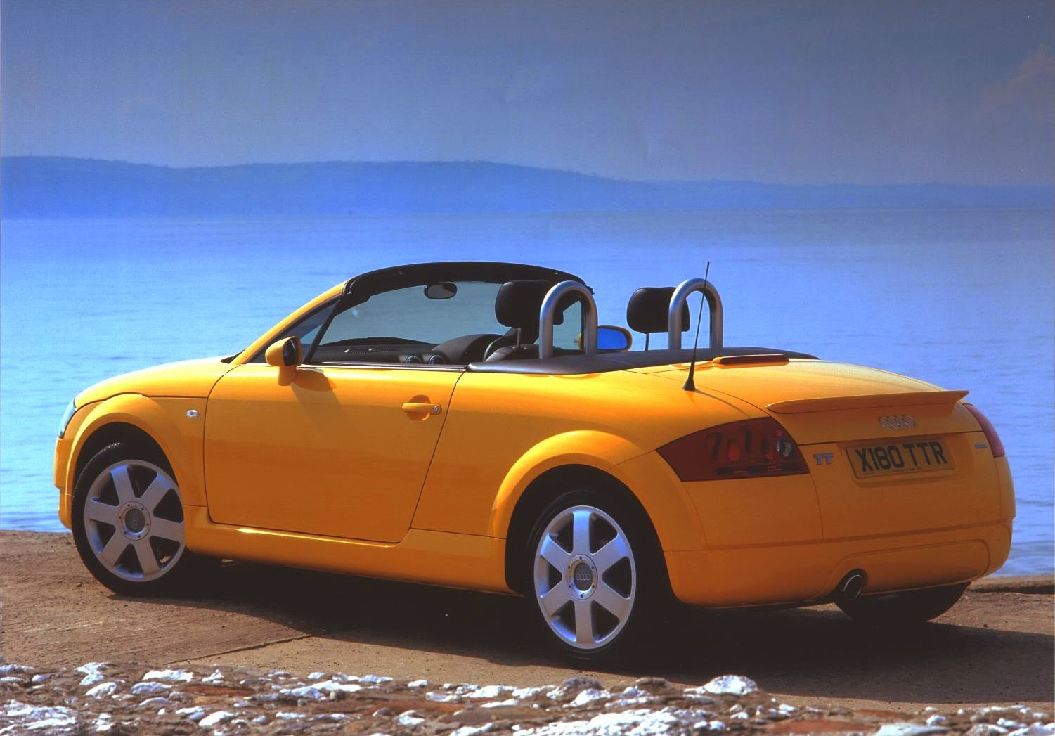 Yellow Audi TT Roadster