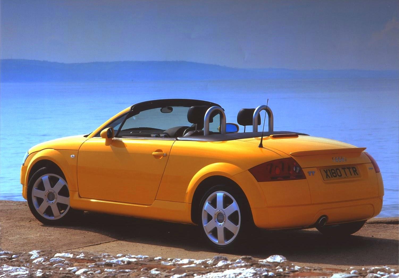 Yellow Audi TT Roadster