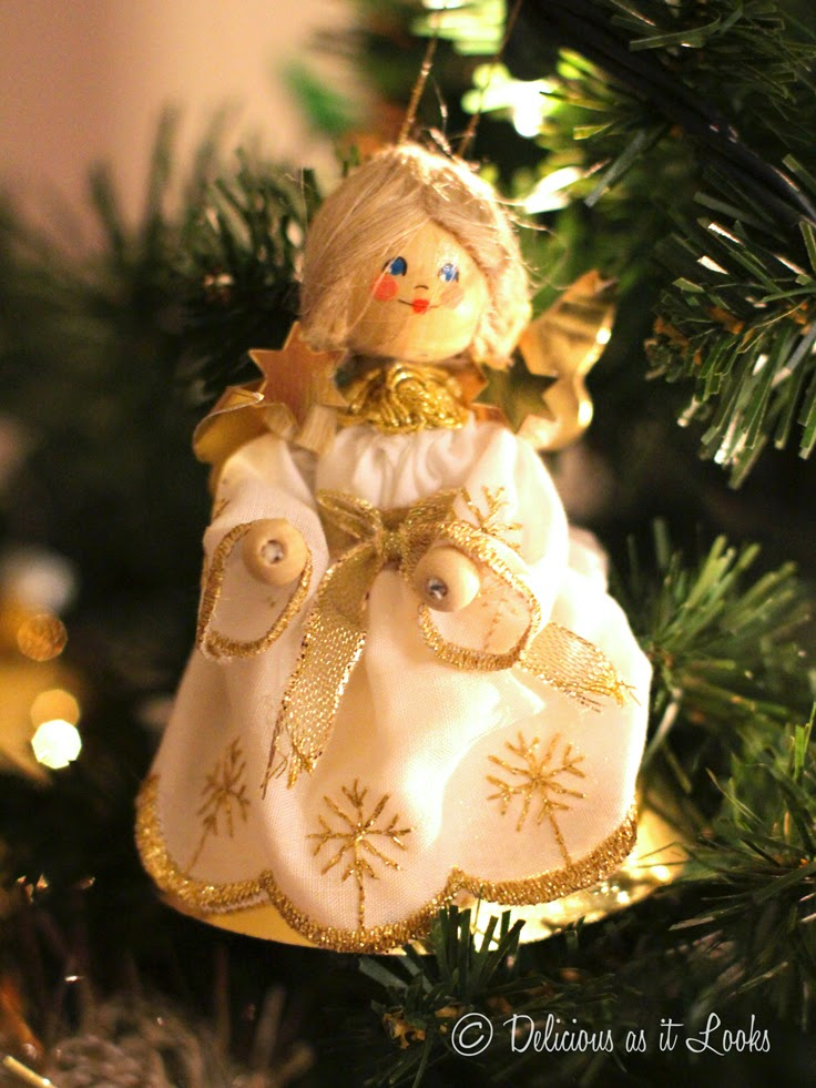 Angel Ornament  /  Delicious as it Looks