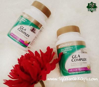 kelebihan GLA Complex Shaklee