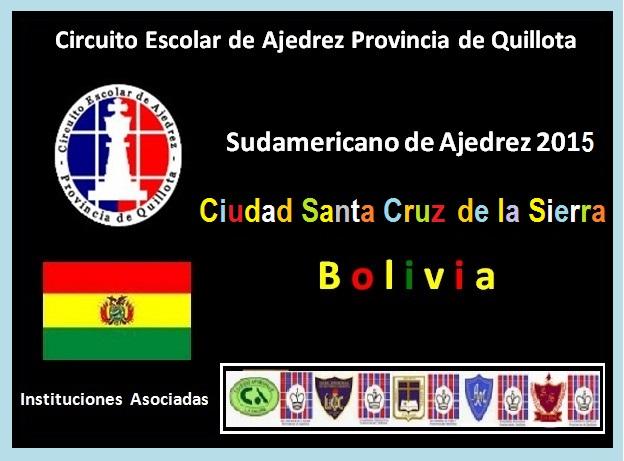 SUDAMERICANO DE AJEDREZ SANTA CRUZ DE LA SIERRA BOLIVIA (02 DICIEMBRE 2015)