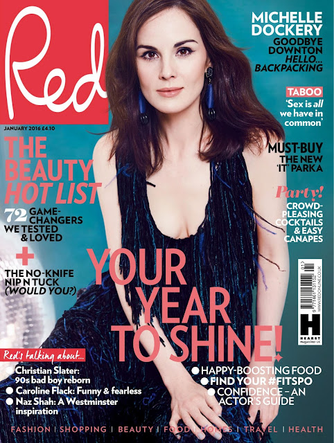 Actress, Singer, @ Michelle Dockery - Red UK