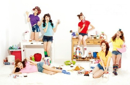 video klip Foto Dal Shabet Personil