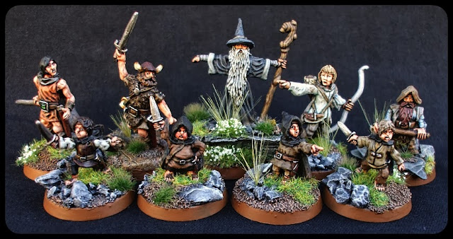 Mithril Miniatures Fellowship Of The Ring