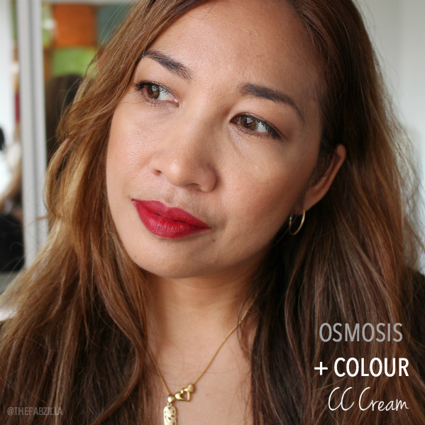 osmosis + colour cc cream color-correcting foundation, review, swatch, taylor swift red lips how-to, what is taylor swift's red lipstick