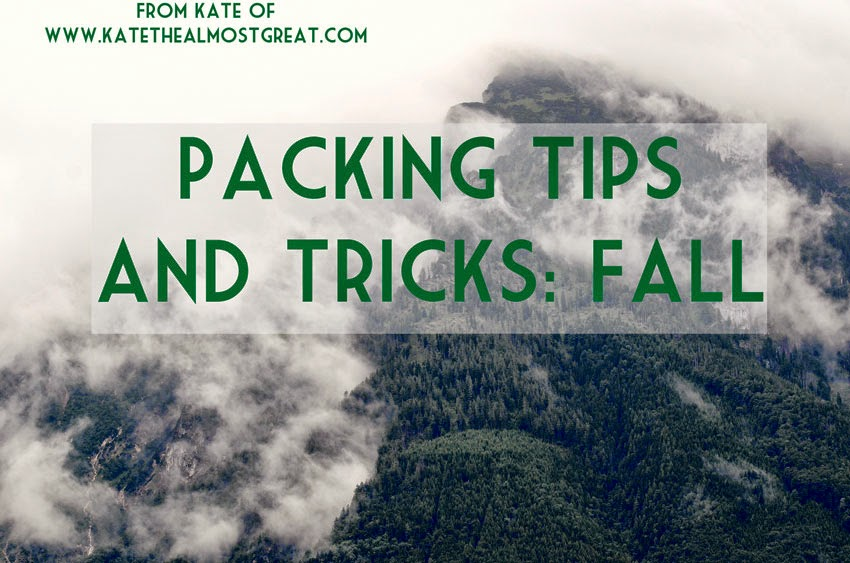 Packing Tips And Tricks for a Fall Trip