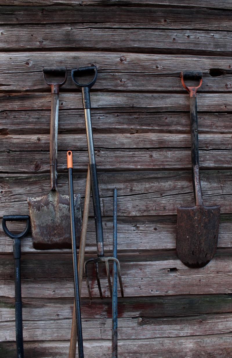 Vanhanajan työkalut