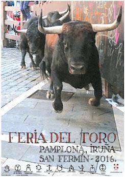 Cartel Feria del Toro 2016