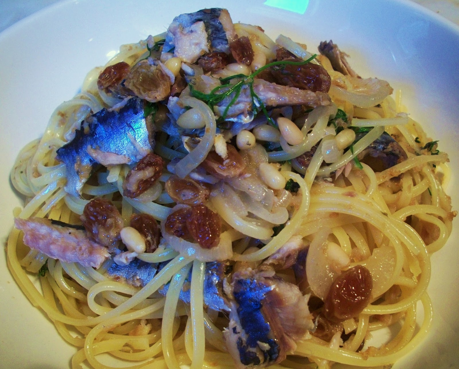 Pasta Con Le Sarde - Pasta With Sardines Recipe — Dishmaps