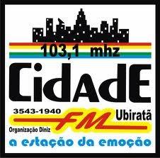 ouvir a Rádio FM Cidade 103,1 Ubiratã PR