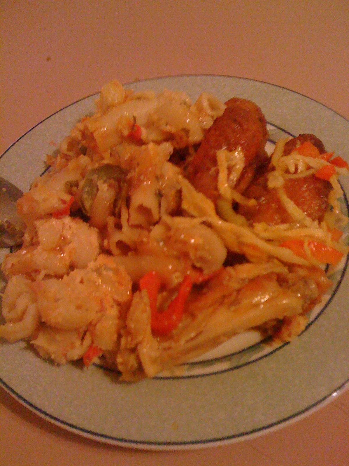 Haitienne: Macaroni au gratin recipe+ pics