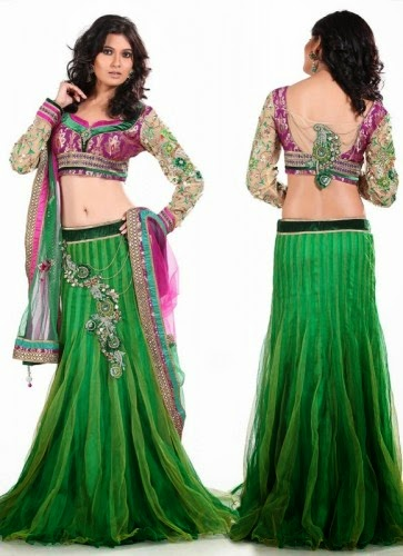 Indian Vridal Ghagra Choli Collection