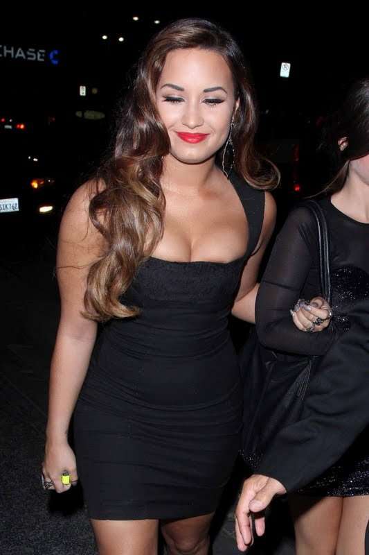 Demi Lovato at pre-VMA Party
