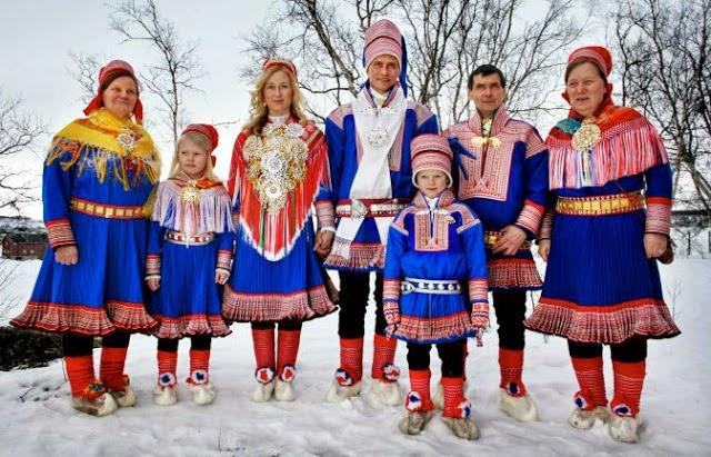 los sami noruegos