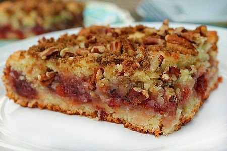 Cherry Preserve Coffee Cake