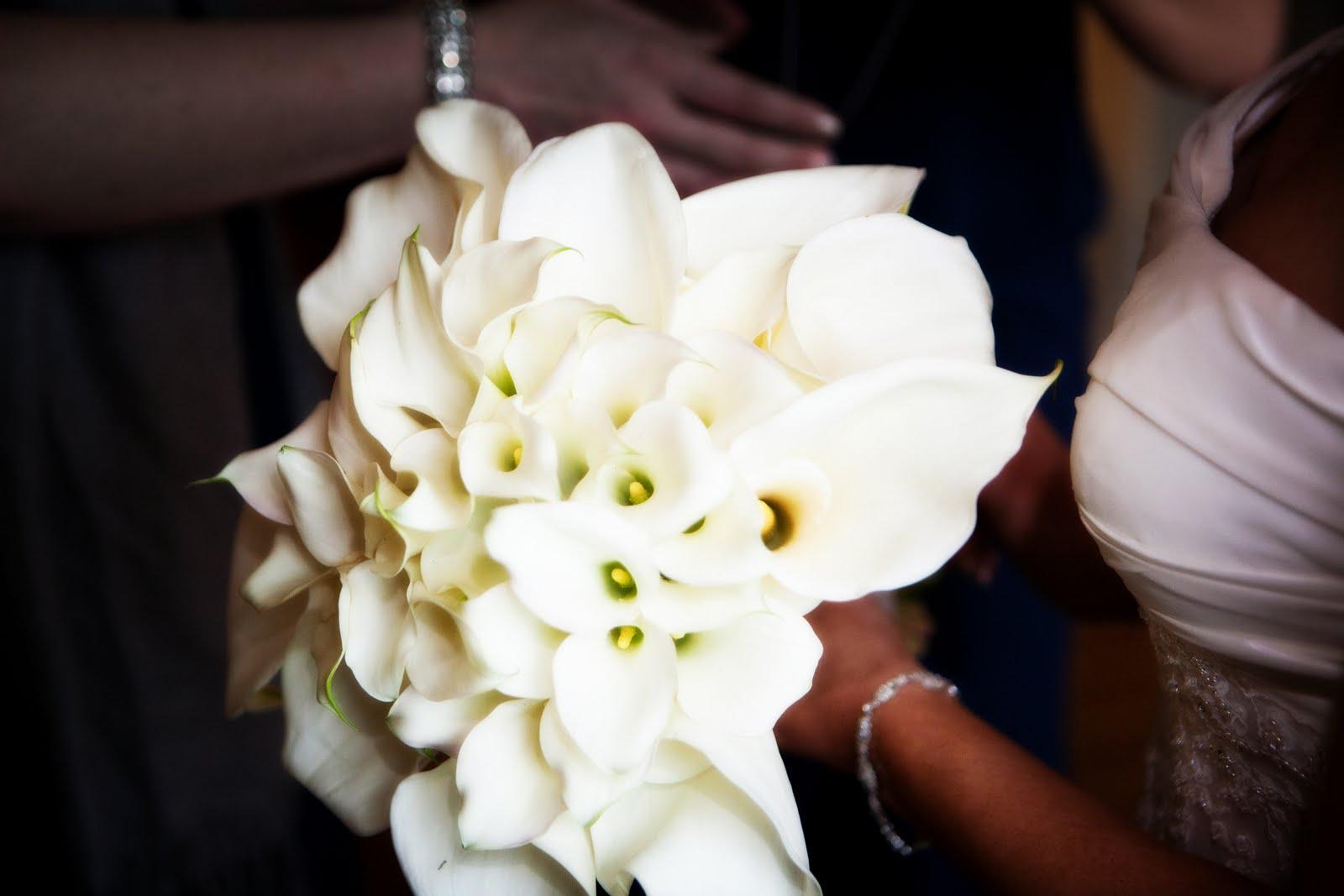 Blooms Blog: Calla Lily Wedding at the Old Sugar Mill