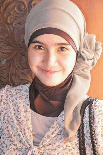 Model hijab sederhana untuk kerja