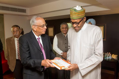 Buhari meets up with old Indian coursemates of 1973 pic 4