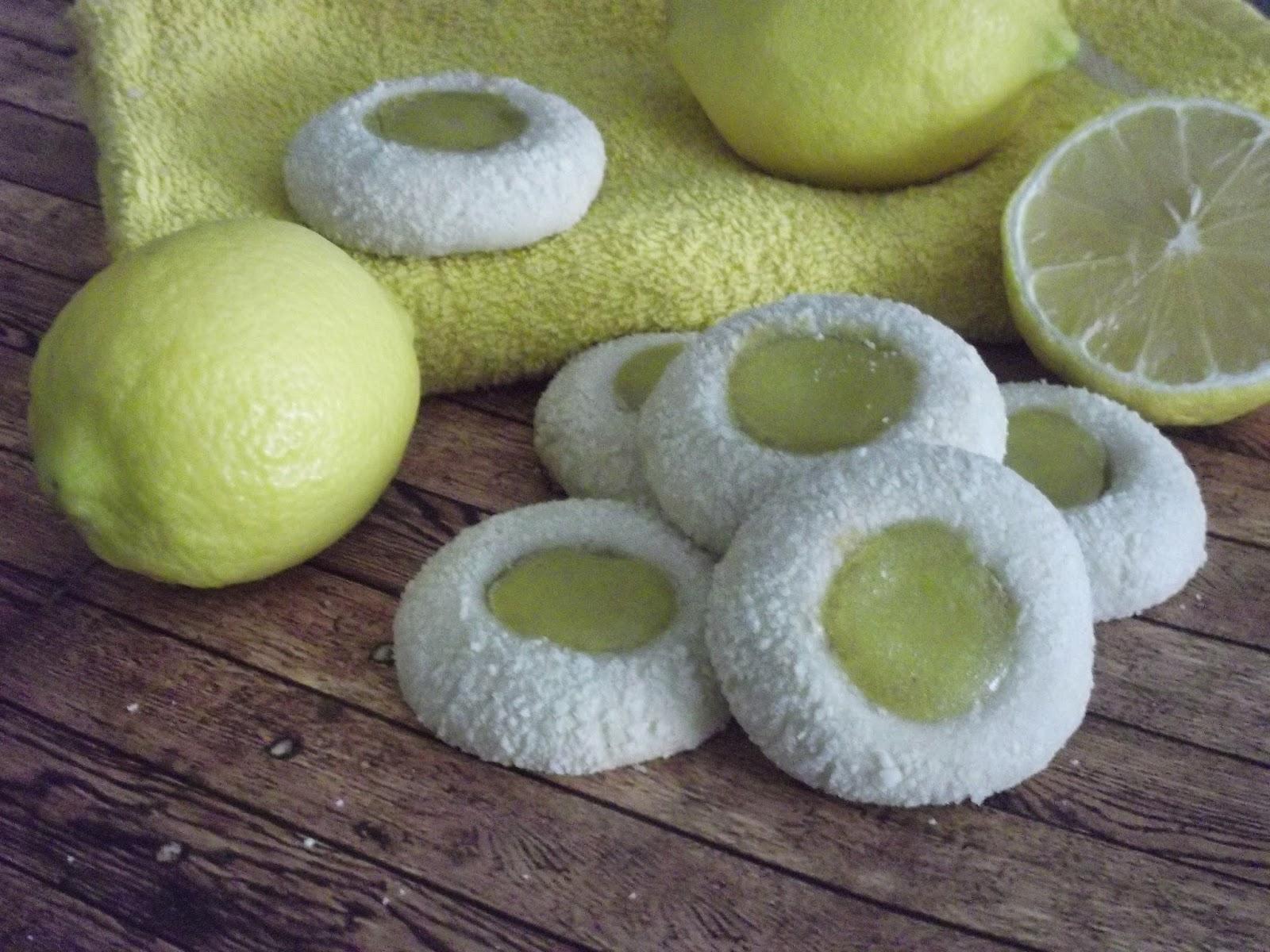 La asaltante de dulces: Semana galletera: Galletas thumbprint de ...