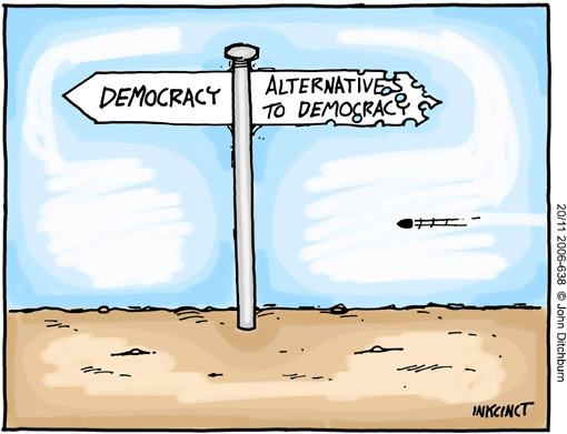 essay on is true democracy possible in backward countries