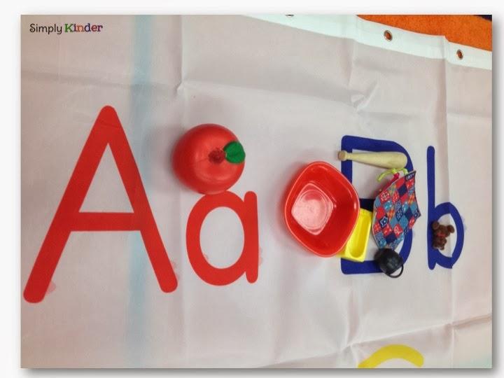 Alphabet Shower Curtain - Simply Kinder