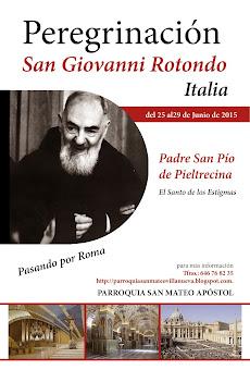 Peregrinación a San Giovanni Rotondo