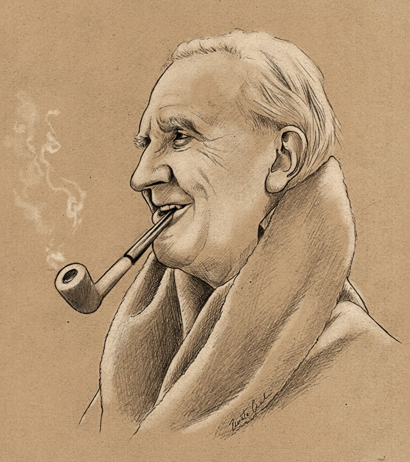 J.R.R.Tolkien – Best selling author.