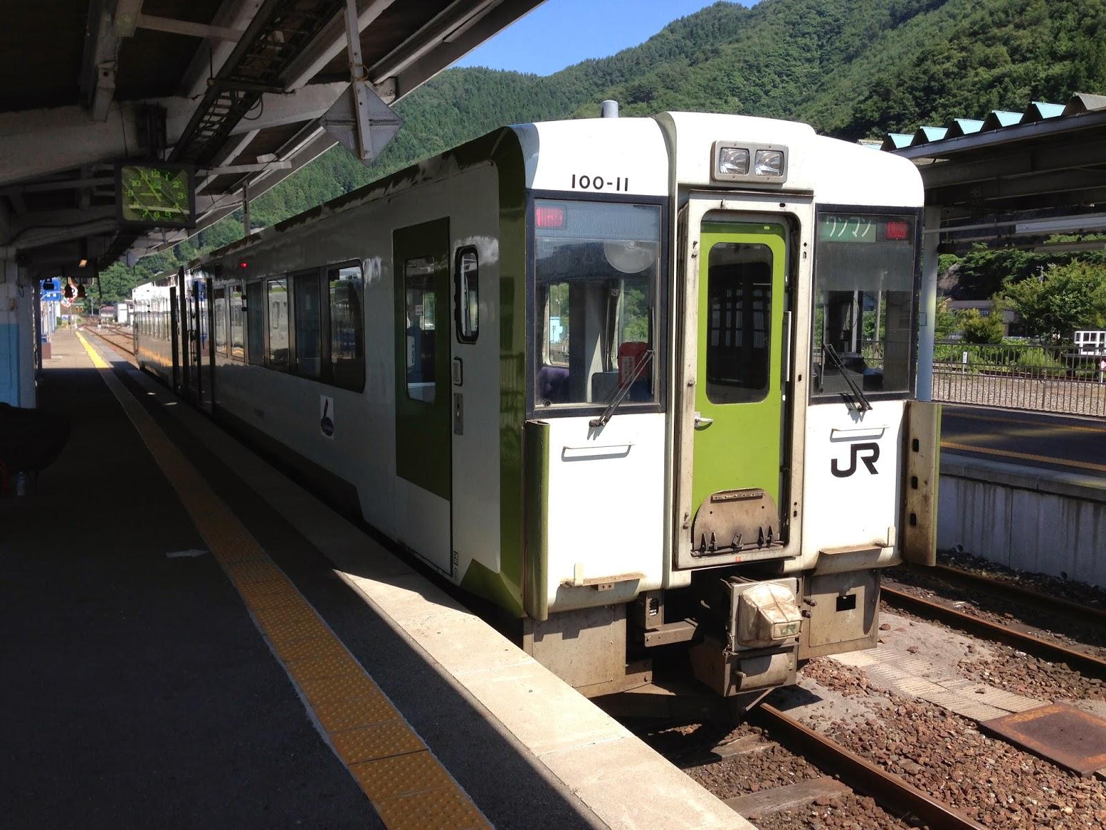 iwate train, cycling iwate