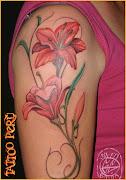 fotos de tatuajes - los mejores tatuadores estan en warriors peru: tatuajes . flores hermosas para tatuajes
