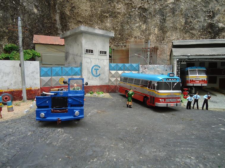 Miniatura do ônibus Cermava 2ª edição