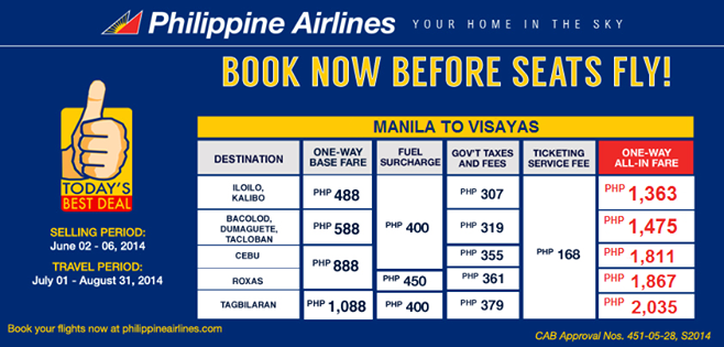 Www Philippineairlines Online Booking Promo