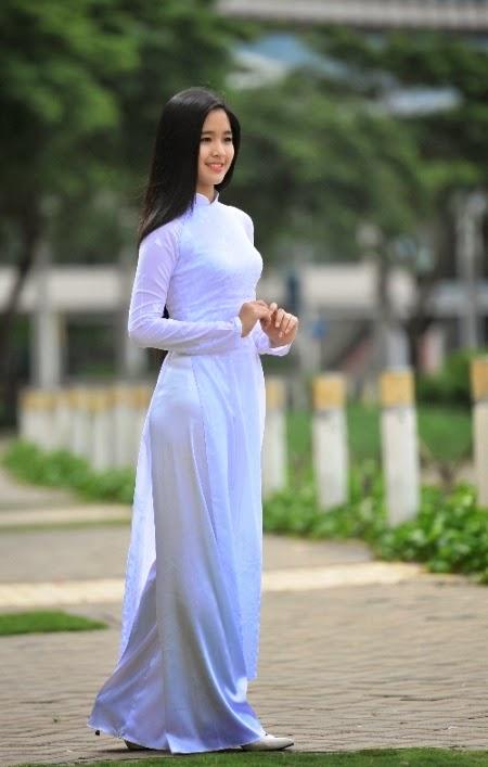 Hot girls việt nam với áo dài truyền thống phần 4 31