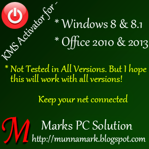 Activate Windows 8.1 by KMS