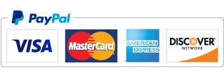 Pay with PayPal or Credit Card Fill In Above <b>Click Blue PayPal Button</b>